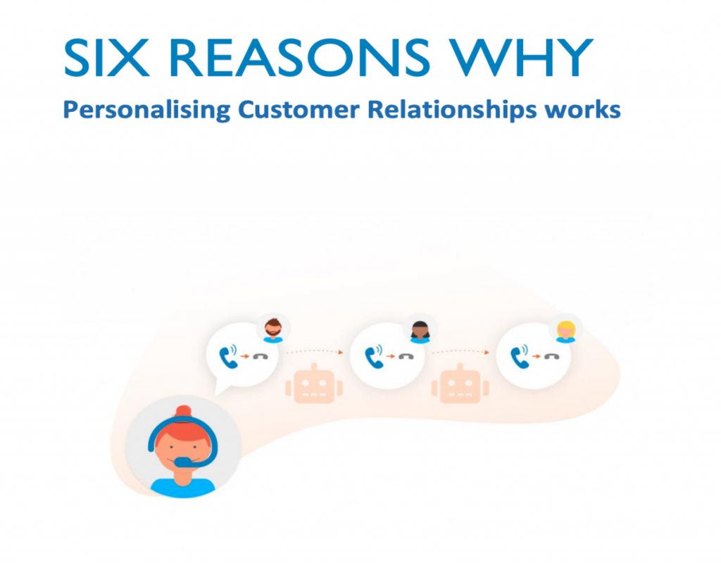 Daktela Six Reasons Why Personalising Customer Relationships Works